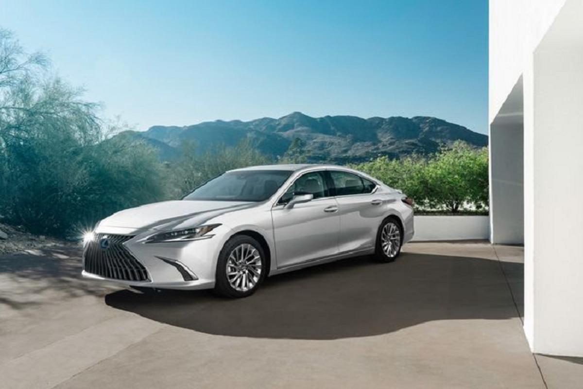 Lexus ES 2022 trinh lang: Ngoai that sac sao, cabin cao cap-Hinh-3