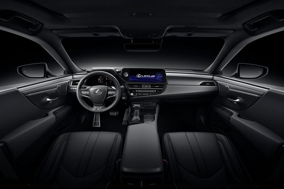 Lexus ES 2022 trinh lang: Ngoai that sac sao, cabin cao cap-Hinh-4