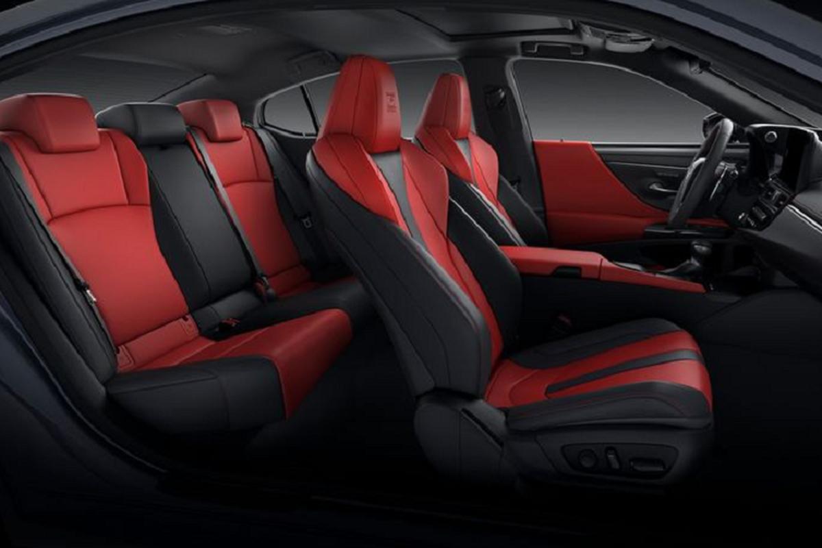 Lexus ES 2022 trinh lang: Ngoai that sac sao, cabin cao cap-Hinh-6