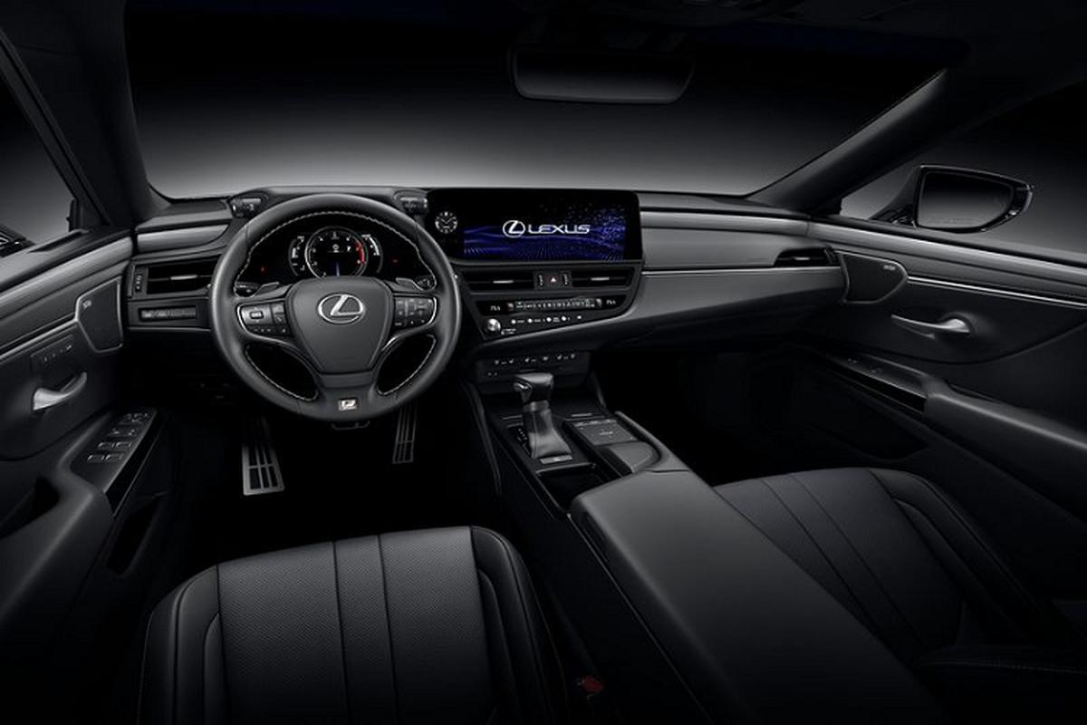 Lexus ES 2022 trinh lang: Ngoai that sac sao, cabin cao cap-Hinh-7