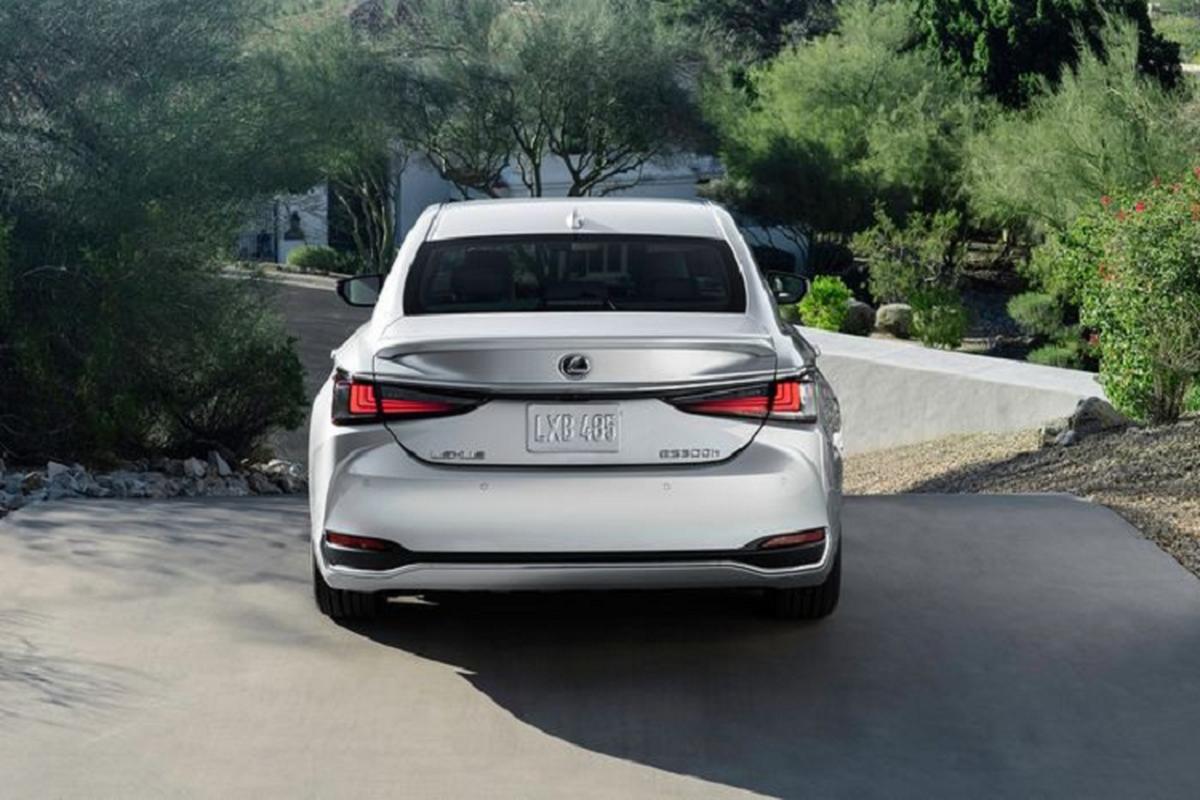 Lexus ES 2022 trinh lang: Ngoai that sac sao, cabin cao cap-Hinh-9