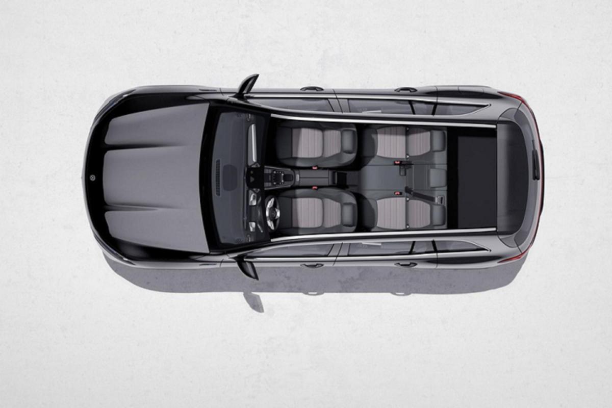 Mercedes-Benz EQB luxury car spread over 400 km / lan sac-Hinh-3