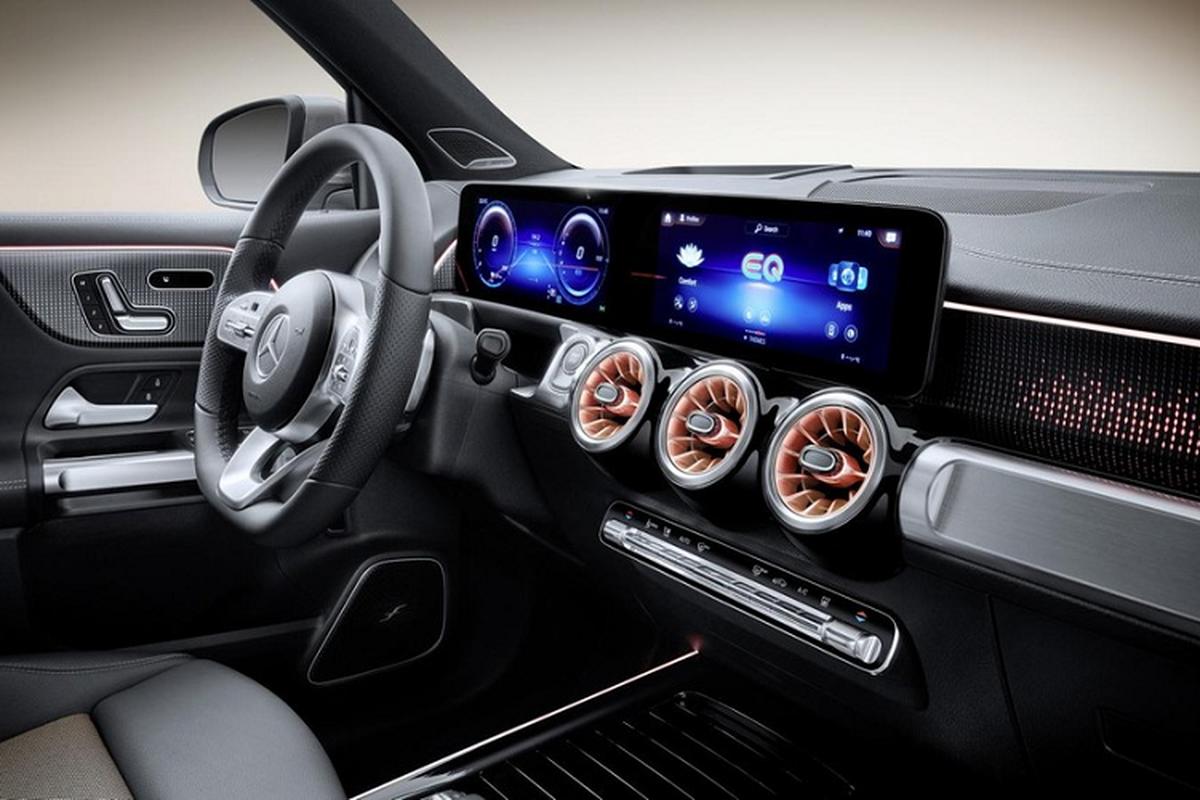 Mercedes-Benz EQB luxury car spread over 400 km / lan sac-Hinh-5