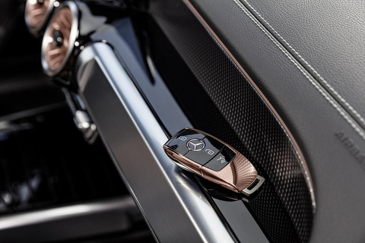 Mercedes-Benz EQB luxury car spread over 400 km / lan sac-Hinh-6