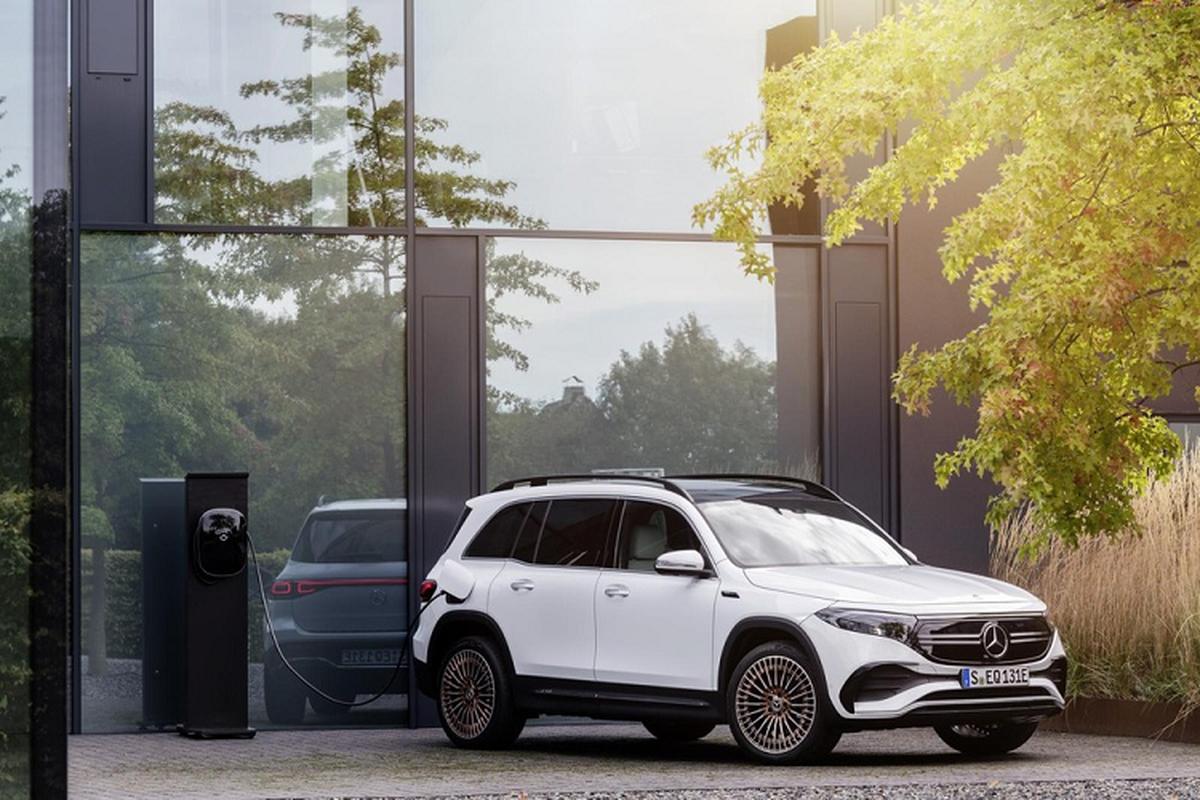 Mercedes-Benz EQB luxury car spread over 400 km / lan sac-Hinh-7