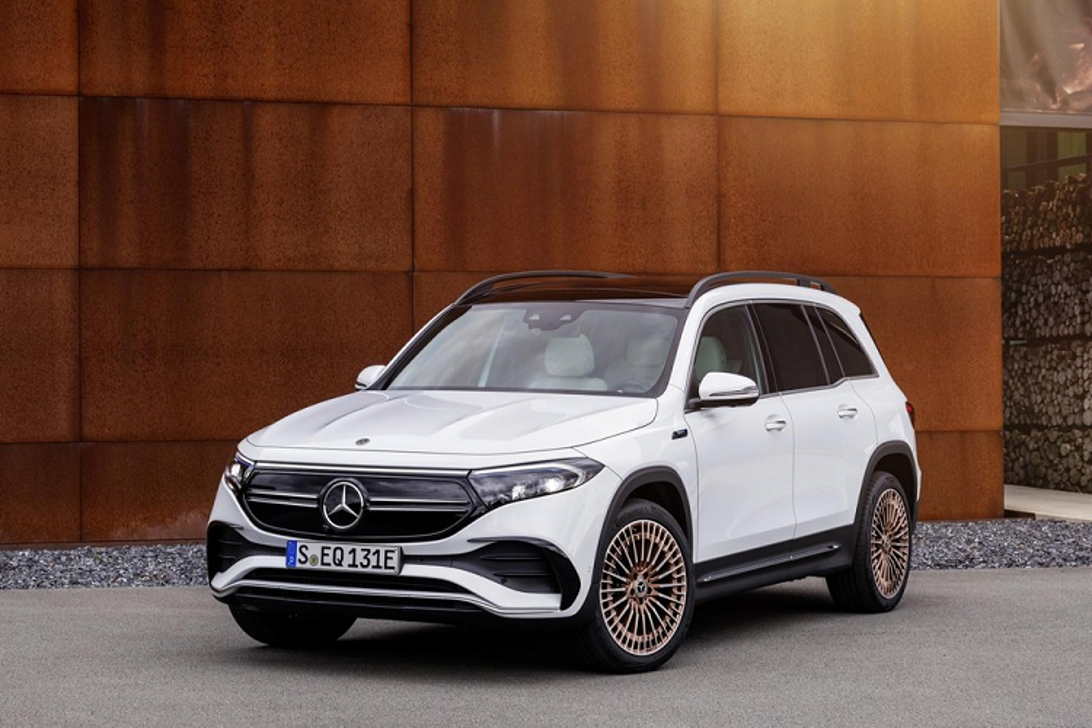 Mercedes-Benz EQB luxury car spread over 400 km / lan sac-Hinh-9