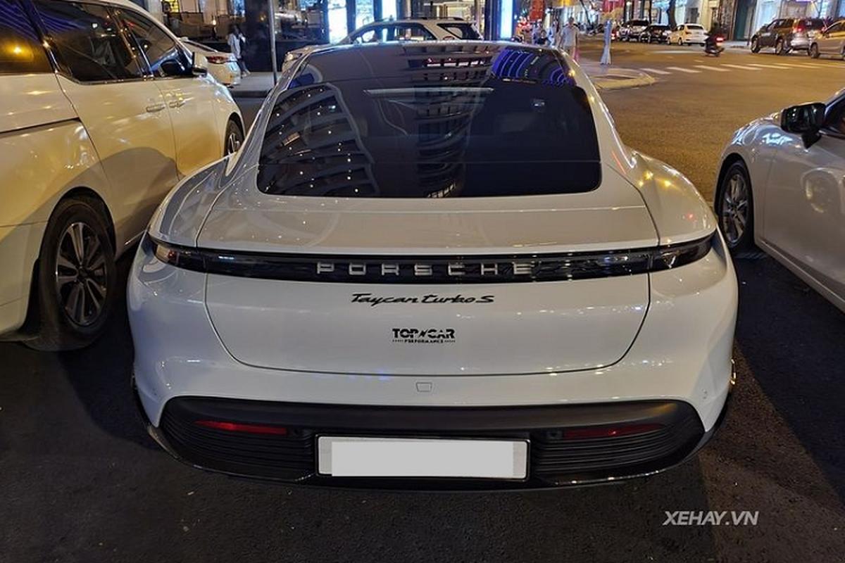 Porsche Taycan Turbo S has 10 companies, 412 km / lan in Sai Gon-Hinh-8