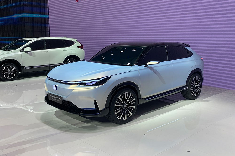 Details of Honda SUV e: The new prototype will be launched in 2022-Hinh-2