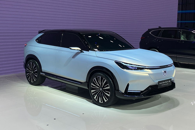 Details of Honda SUV e: The new prototype will be released in 2022-Hinh-4