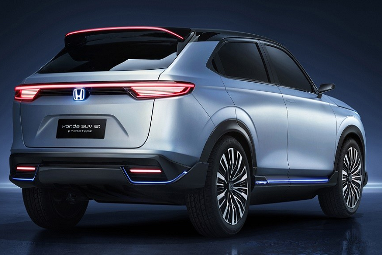 Details of Honda SUV e: The new fully launched prototype will be released in 2022-Hinh-6