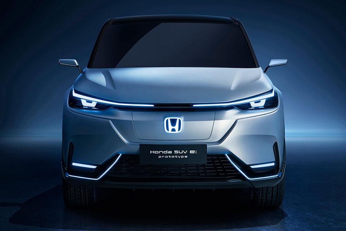 Chi tiet Honda SUV e:prototype hoan toan moi se ban ra vao 2022