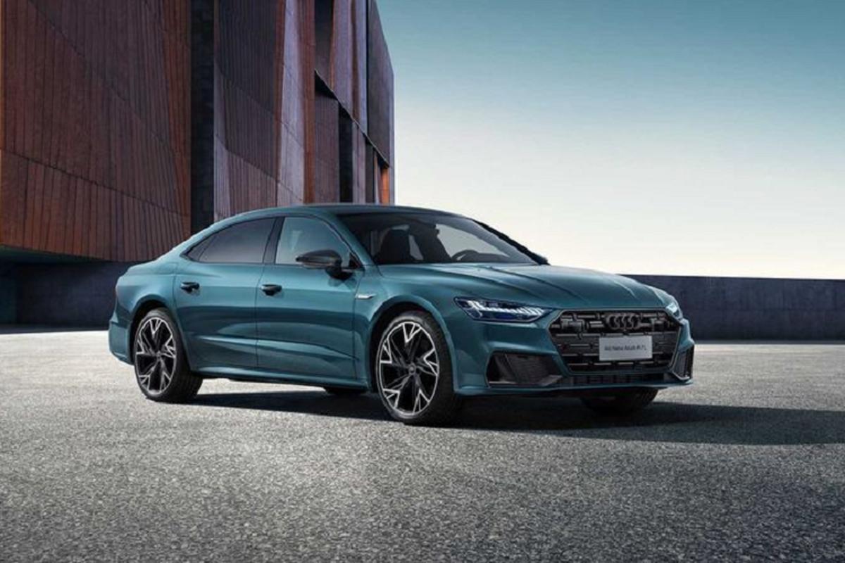 Xe sang Audi A7 L chinh thuc trinh lang, gioi han chi 1.000 chiec
