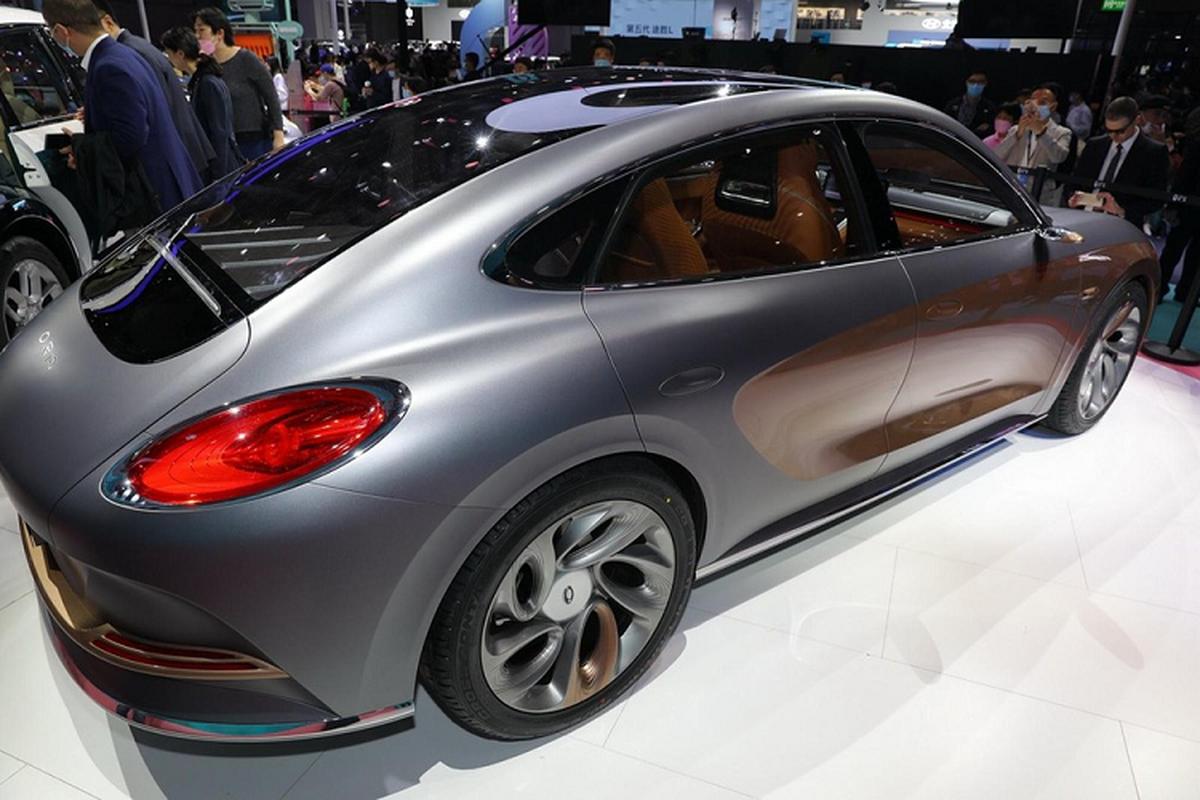 """Ora Lightning Cat - xe dien Trung Quoc gia re """"nhai"""" Porsche-Hinh-6"""