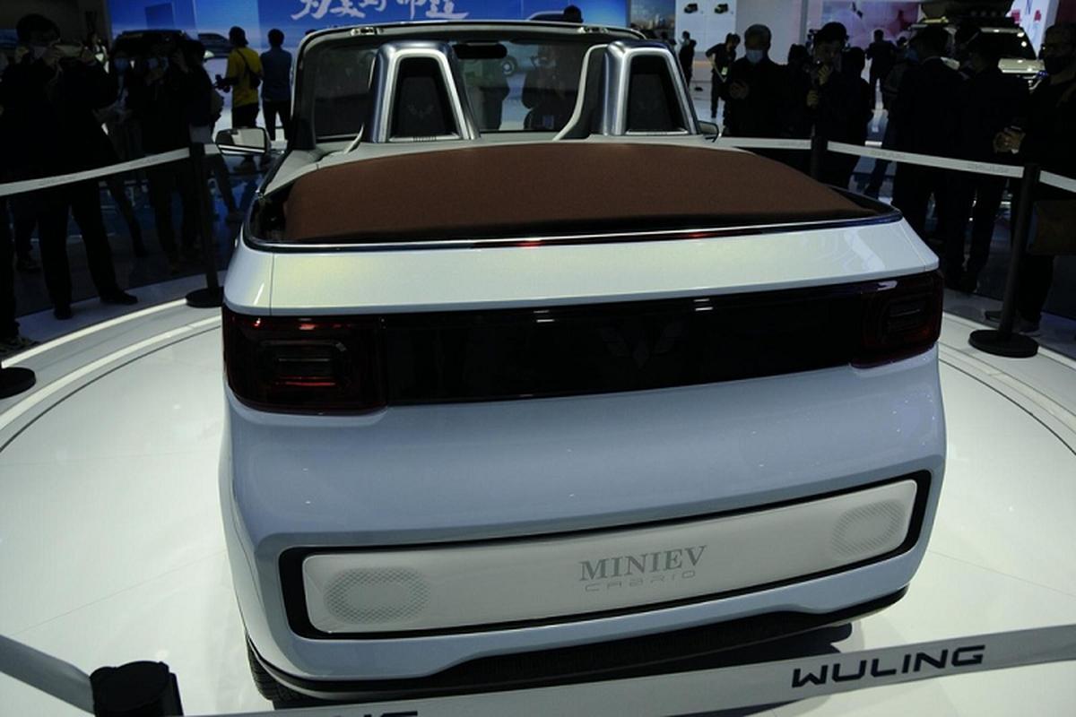 Wuling Hongguang Mini EV Cabrio - mui tran sieu re tai Trung Quoc-Hinh-4