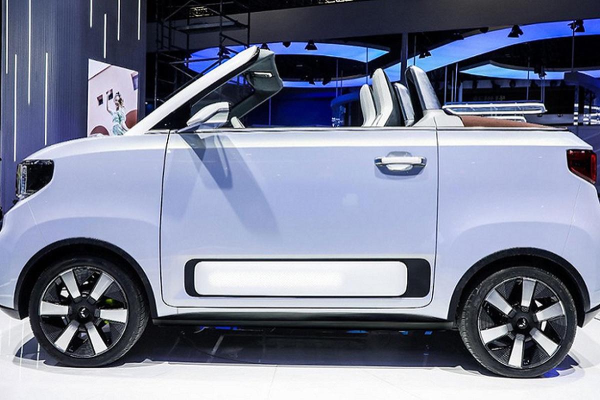 Wuling Hongguang Mini EV Cabrio - mui tran sieu re tai Trung Quoc-Hinh-5