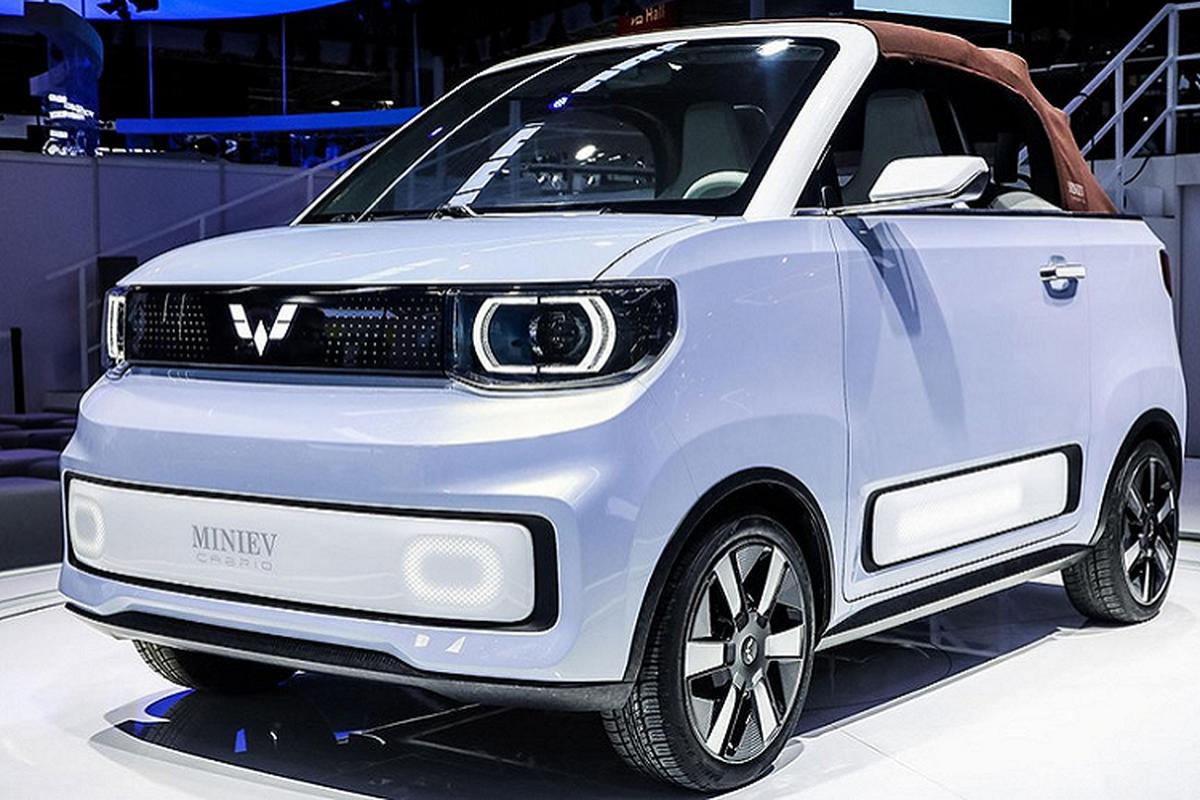 Wuling Hongguang Mini EV Cabrio - mui tran sieu re tai Trung Quoc-Hinh-6