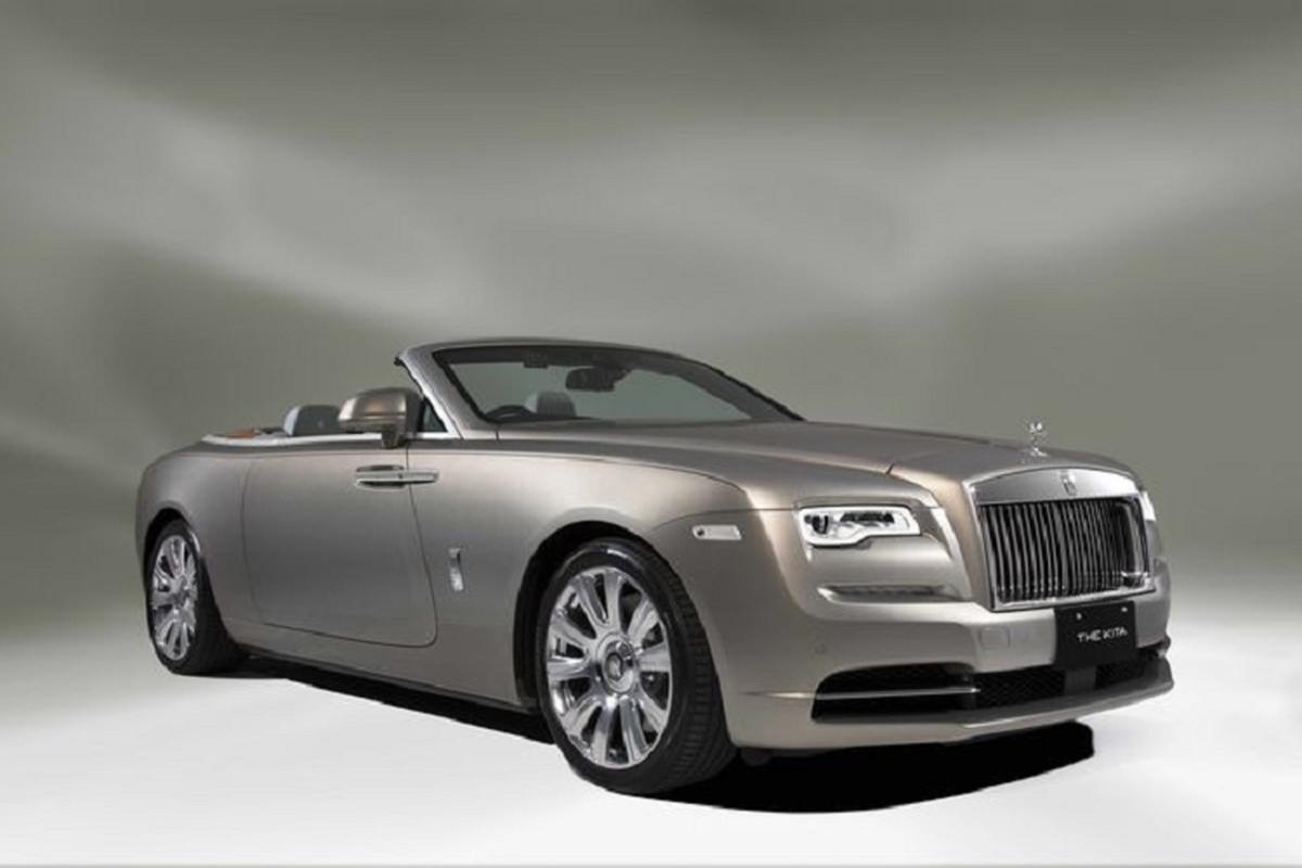 Ngam xe sieu sang Rolls-Royce Dawn phong cach
