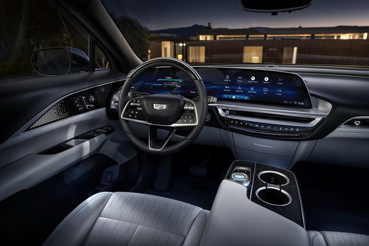 "SUV dien Cadillac Lyriq 2022 chi hon 1 ty dong, ""dau"" Tesla Model X-Hinh-2"