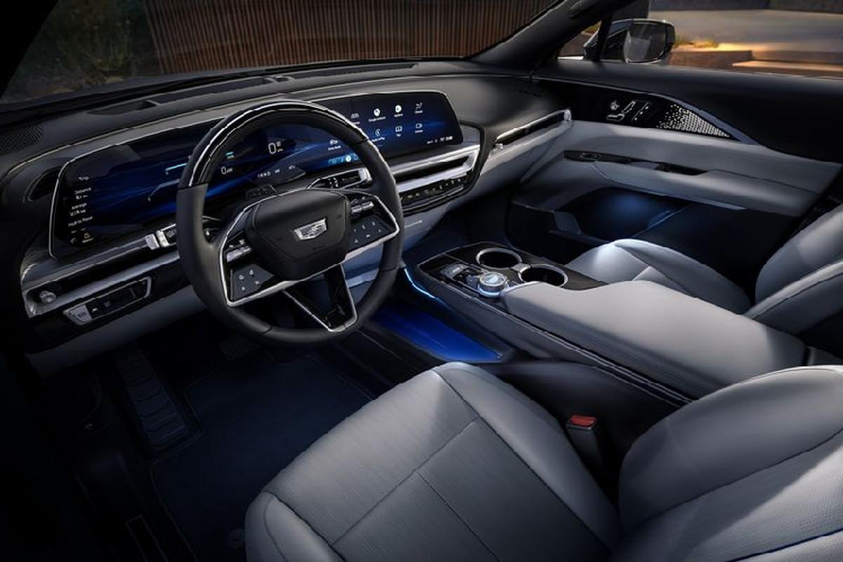 "SUV dien Cadillac Lyriq 2022 chi hon 1 ty dong, ""dau"" Tesla Model X-Hinh-3"