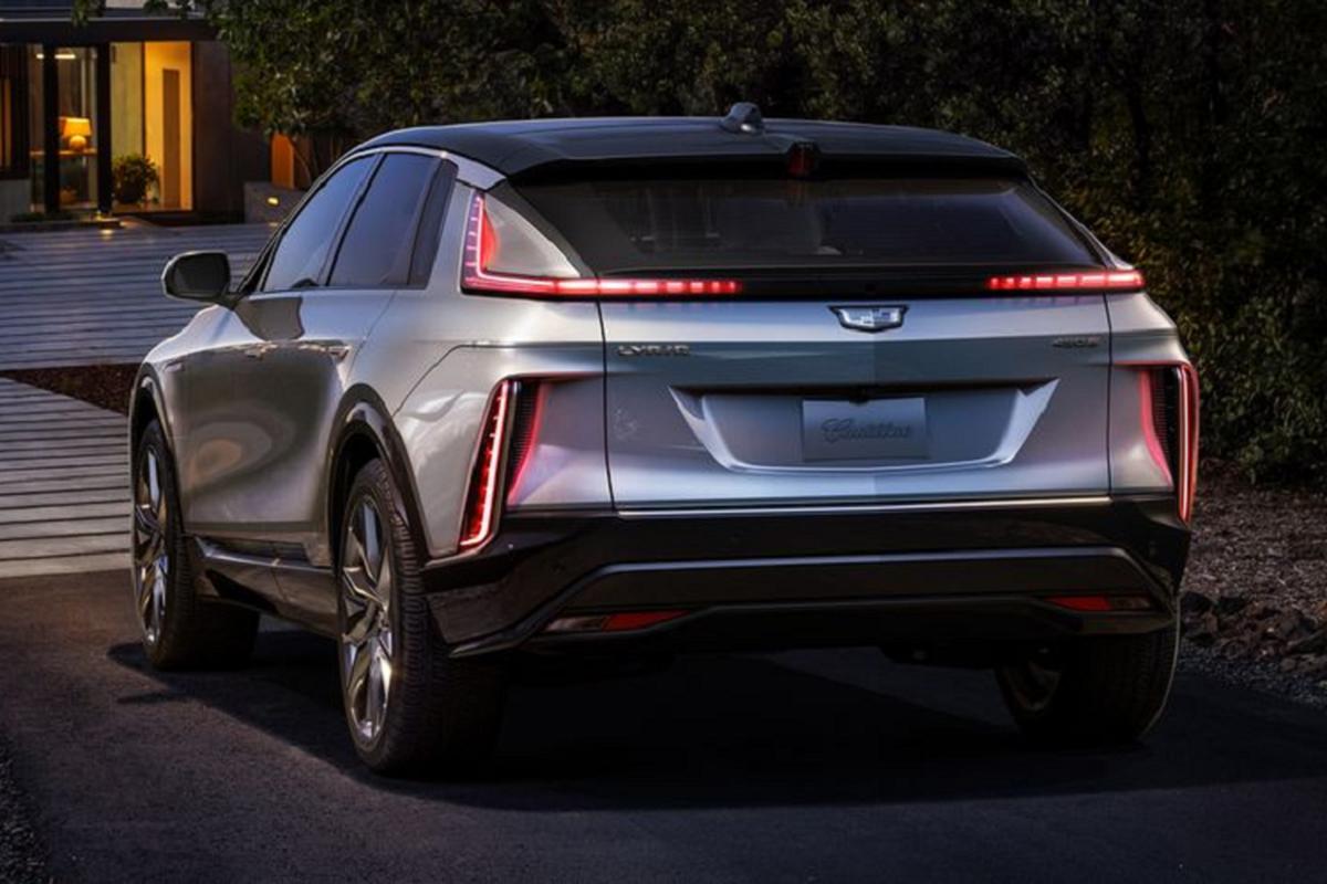 "SUV dien Cadillac Lyriq 2022 chi hon 1 ty dong, ""dau"" Tesla Model X-Hinh-8"