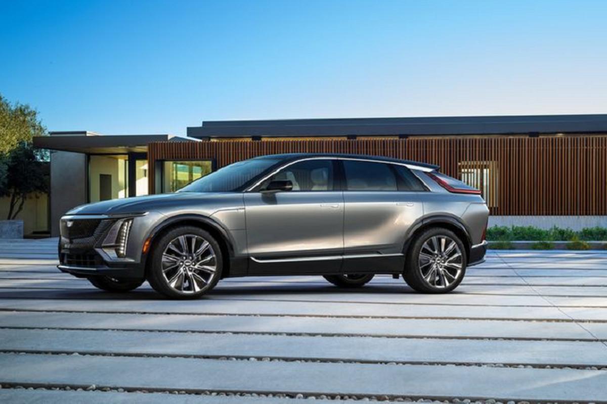 "SUV dien Cadillac Lyriq 2022 chi hon 1 ty dong, ""dau"" Tesla Model X-Hinh-9"