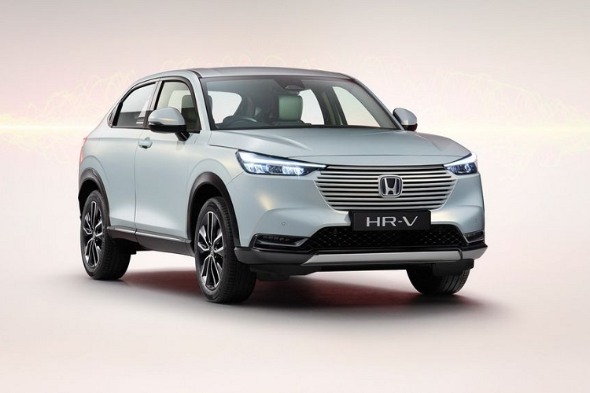 "Honda HR-V 2021 tu 488 trieu dong, ""doi thu"" cua Toyota Cross"