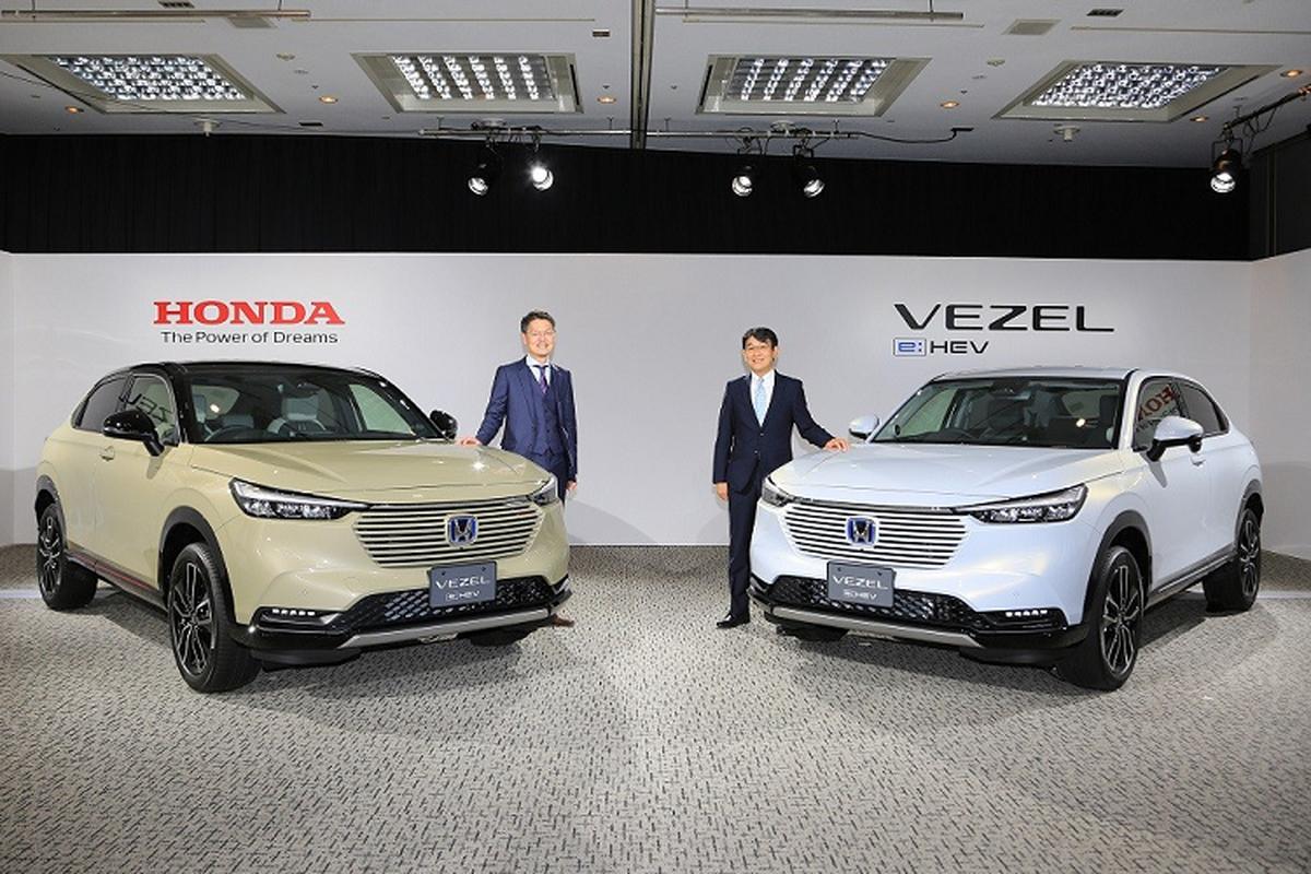 Soi chi tiet Honda HR-V 2021 phien ban
