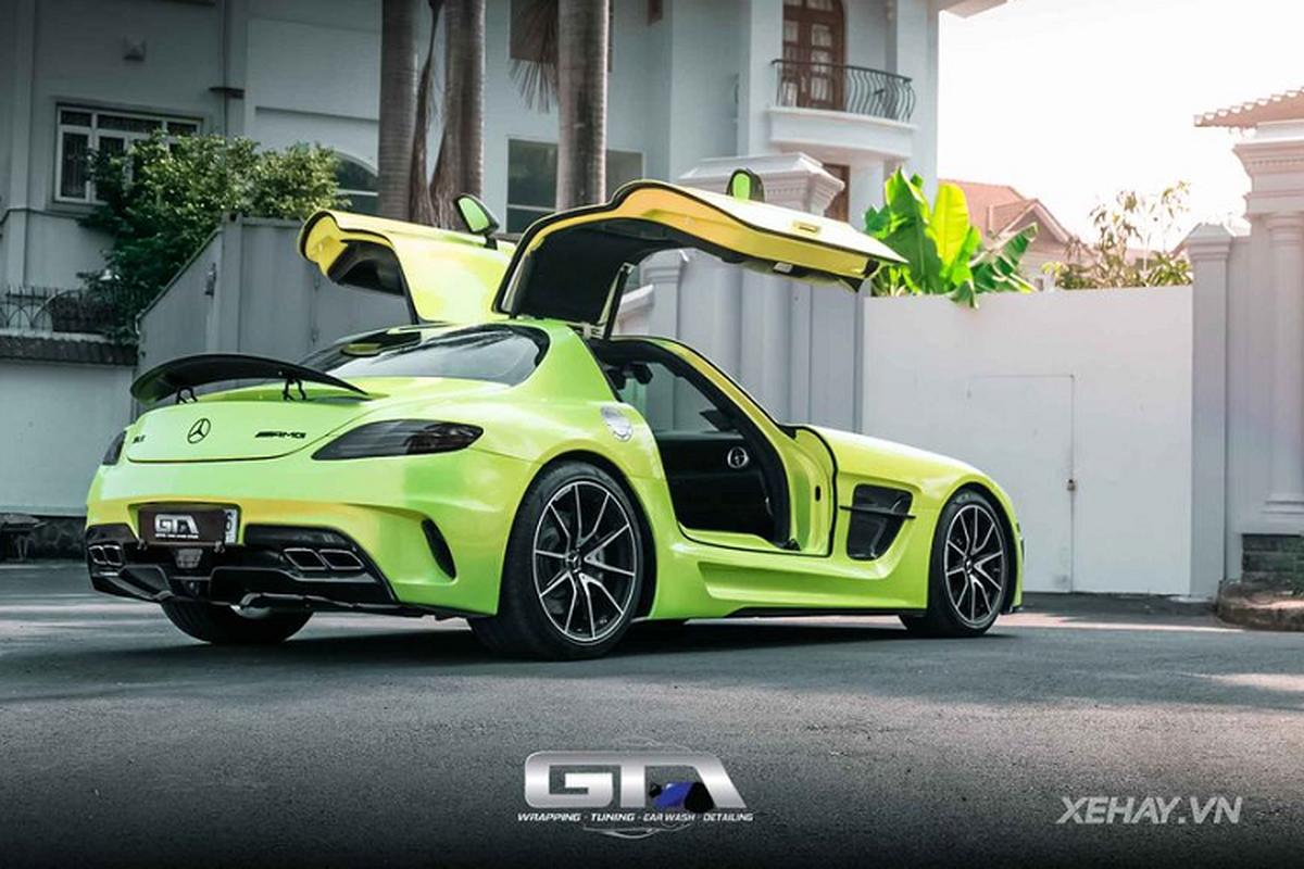 Mercedes-AMG SLS hon 12 ty