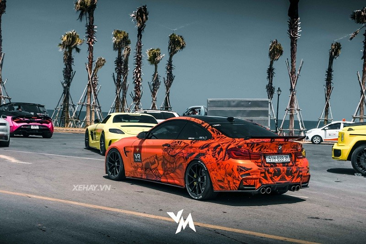 BMW M4 F82 more than 4 years, due to 600 ma liver