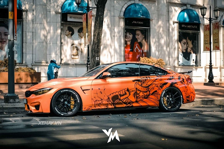BMW M4 F82 is more than 4 years old, due to 600 ma of liver
