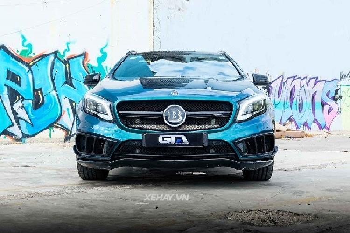 Ngam Mercedes-AMG GLA do