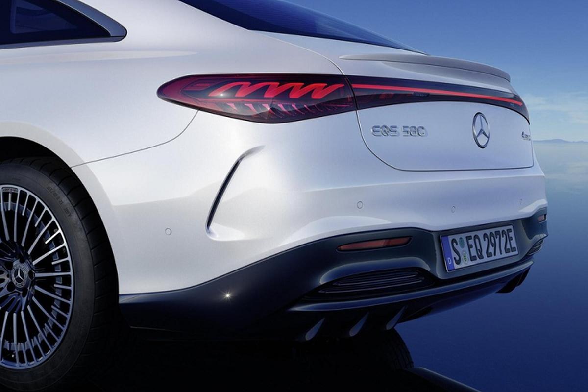 "Mercedes-Benz EQS - ""S-Class chay dien"