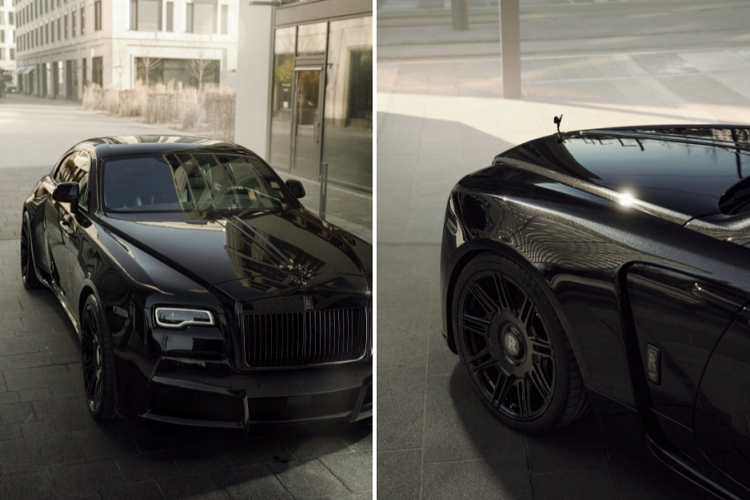 Look at the super luxury Rolls-Royce Wraith Black Badge with 707 magma-Hinh-4