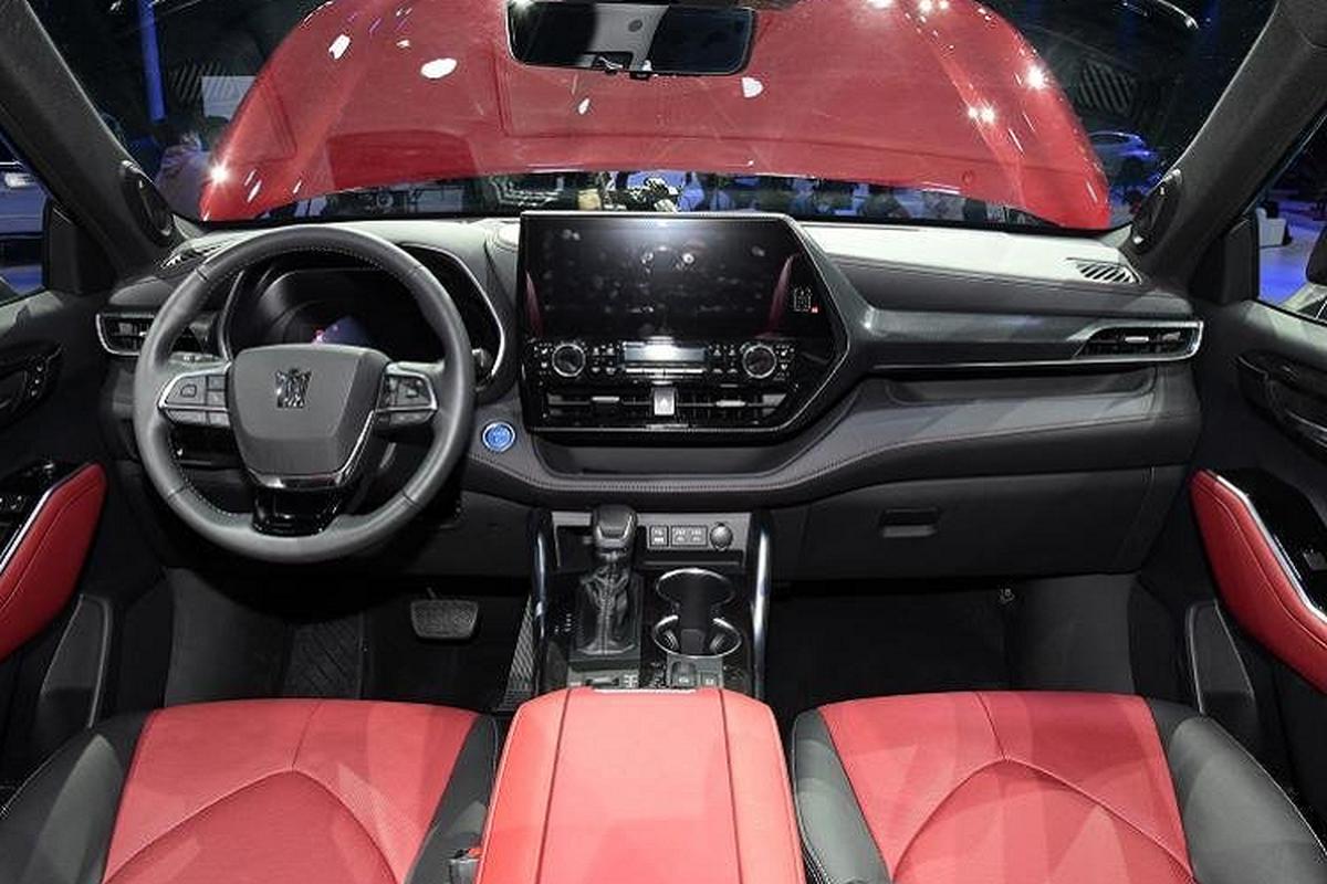 Can canh Toyota Crown SUV - ban nang cap cua Toyota Highlander-Hinh-3