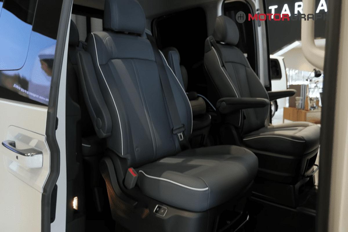 Kham pha tung chi tiet cua MPV Hyundai Staria ban 9 va 11 cho ngoi-Hinh-2