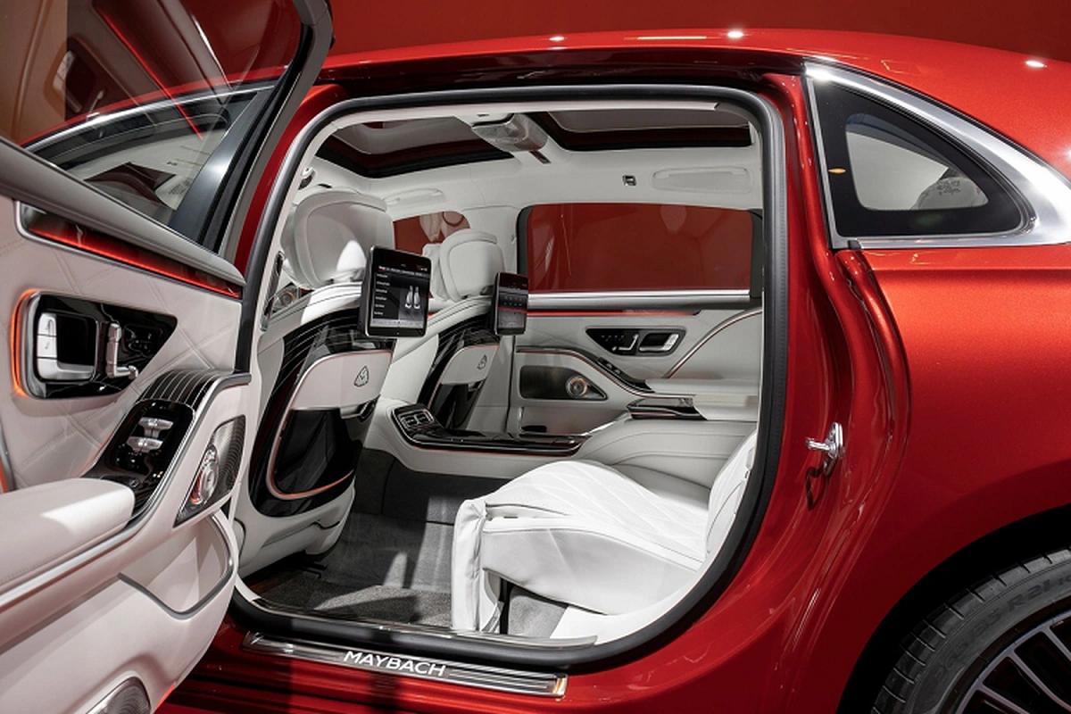 Mercedes-Maybach S 480 2021 more than 5.1 billion dong in China-Hinh-7
