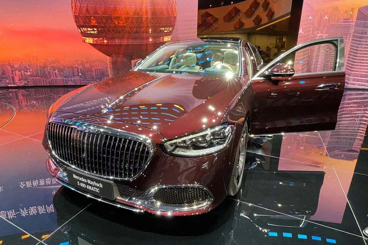 Mercedes-Maybach S 480 2021 hon 5,1 ty dong tai Trung Quoc