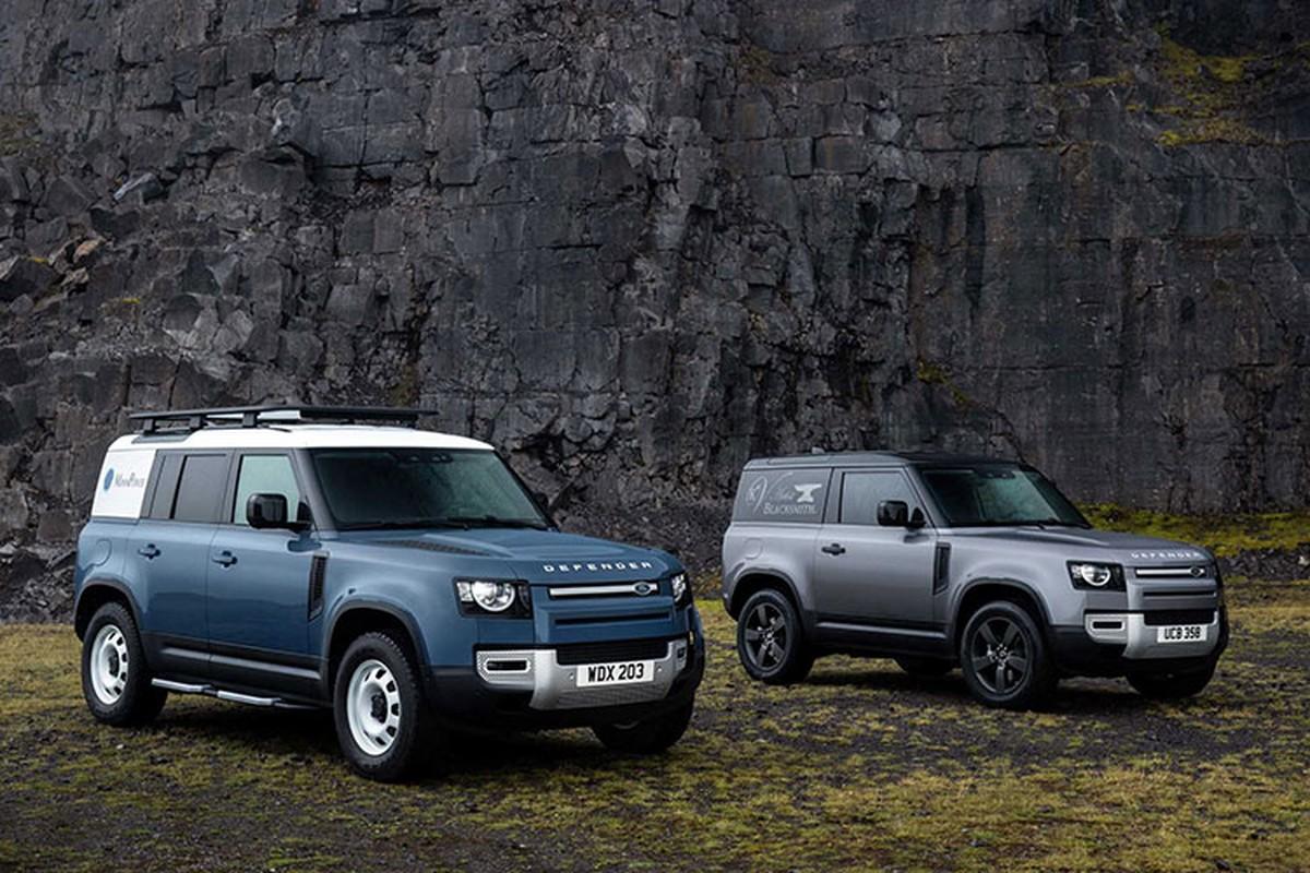 Land Rover Defender the he moi dat giai Thiet ke xe hoi cua nam 2021