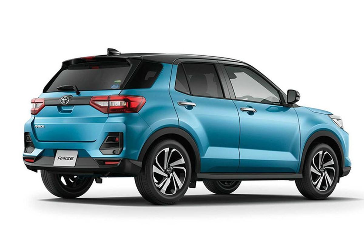 Toyota Raize 2021 sap ban o Dong Nam A, cho ve Viet Nam-Hinh-2