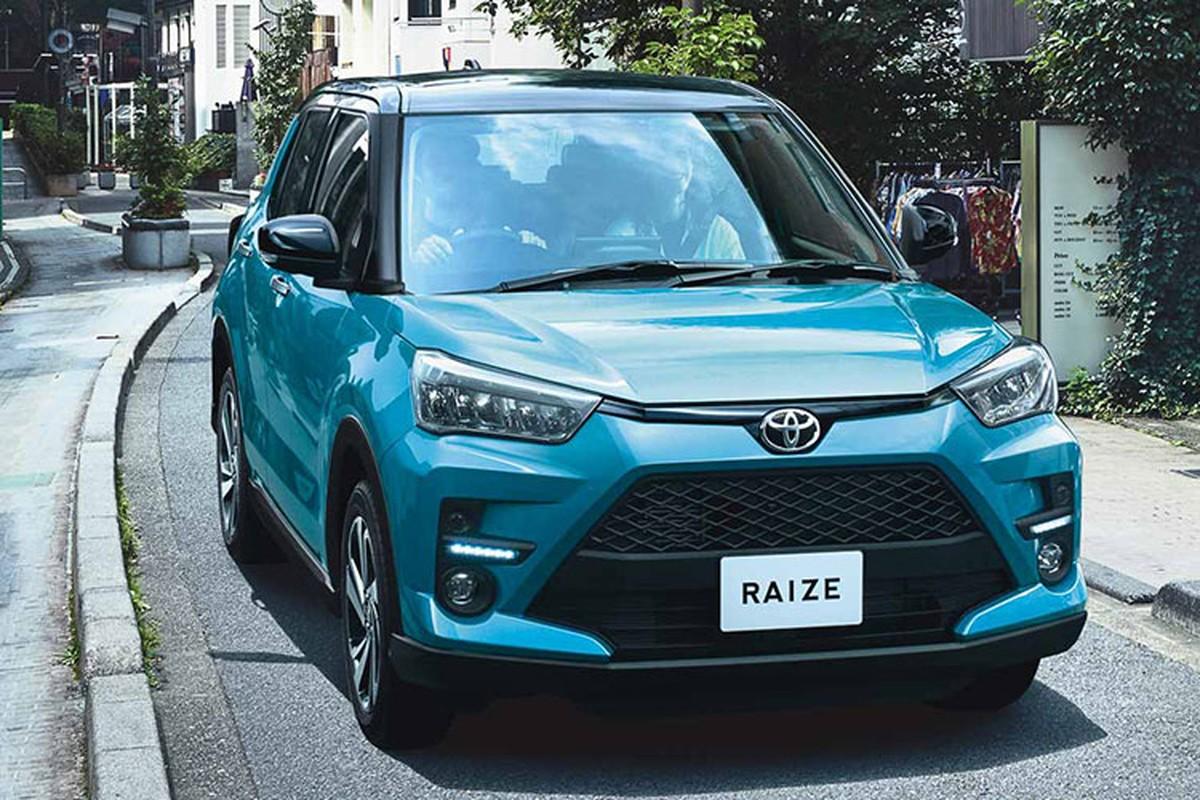 Toyota Raize 2021 sap ban o Dong Nam A, cho ve Viet Nam