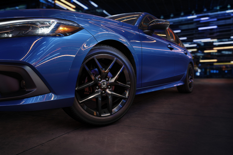 The new Honda Civic 2022 has been released, the design will be more controversial than the Fig-4