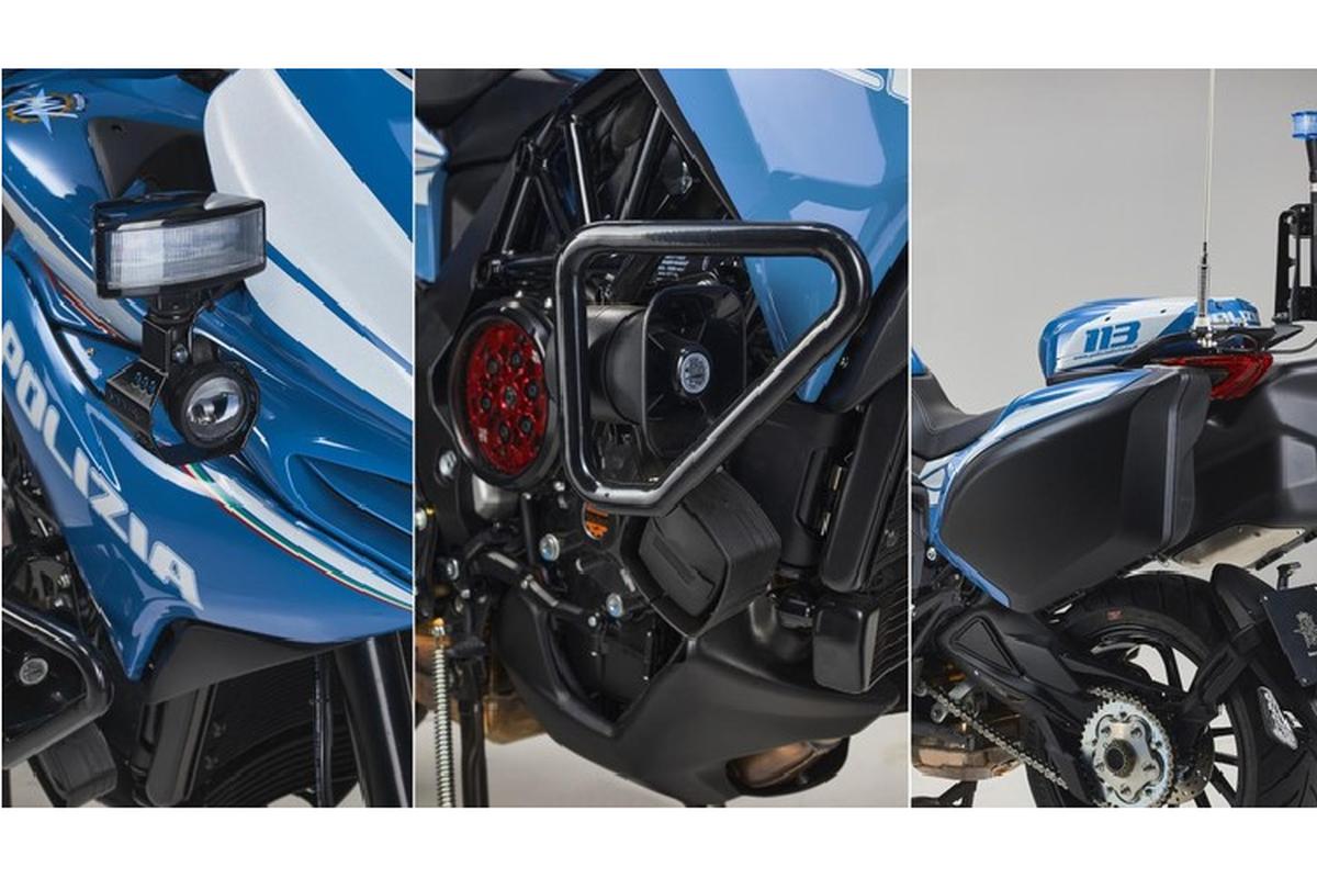 Ngam sieu moto MV Agusta Turismo Veloce cua canh sat Milan-Hinh-6