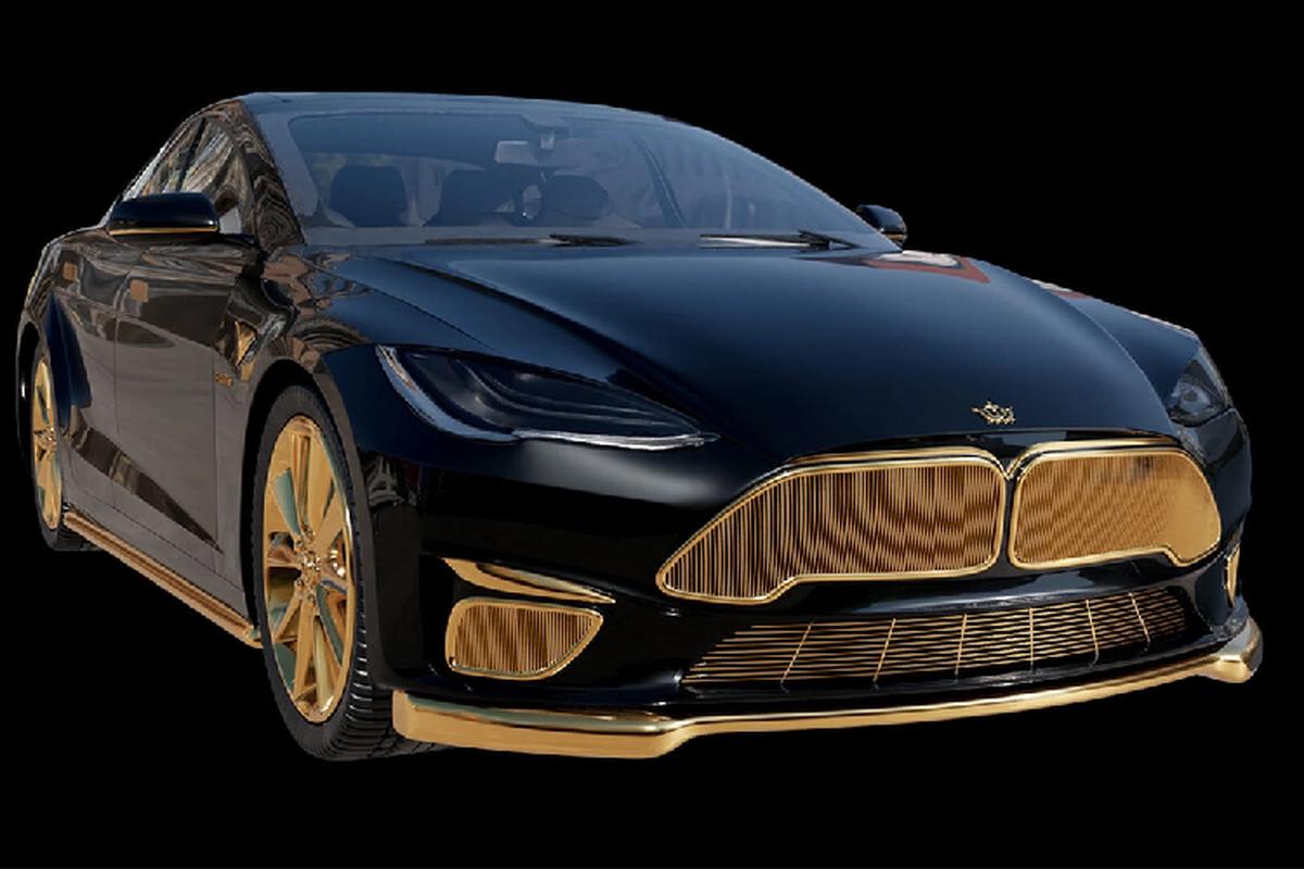 Tesla Model S ma vang hon 6,9 ty dong, dat ngang sieu xe