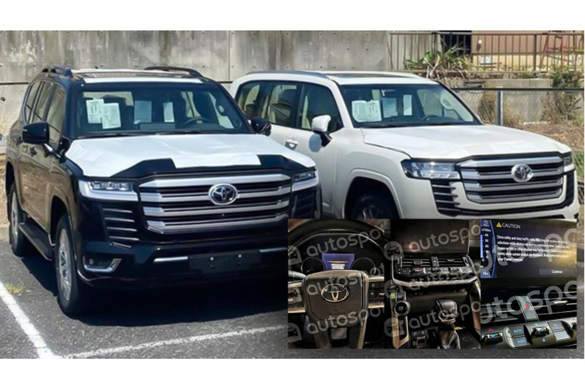 Toyota Land Cruiser 2022 van dung nut bam, bo xu huong cam ung