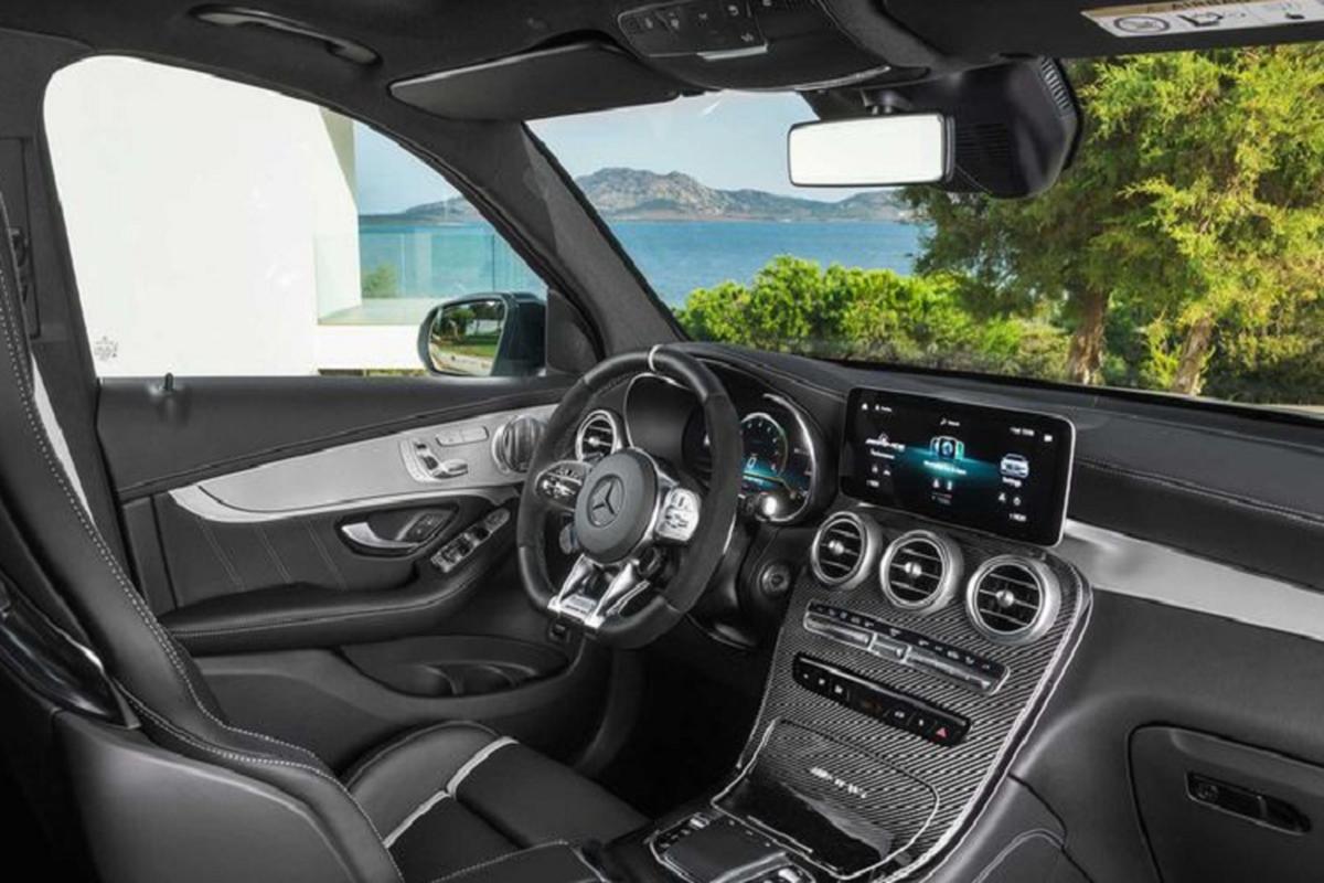 SUV Mercedes-AMG GLC 63 S 2022 trinh lang, SUV manh nhat-Hinh-4