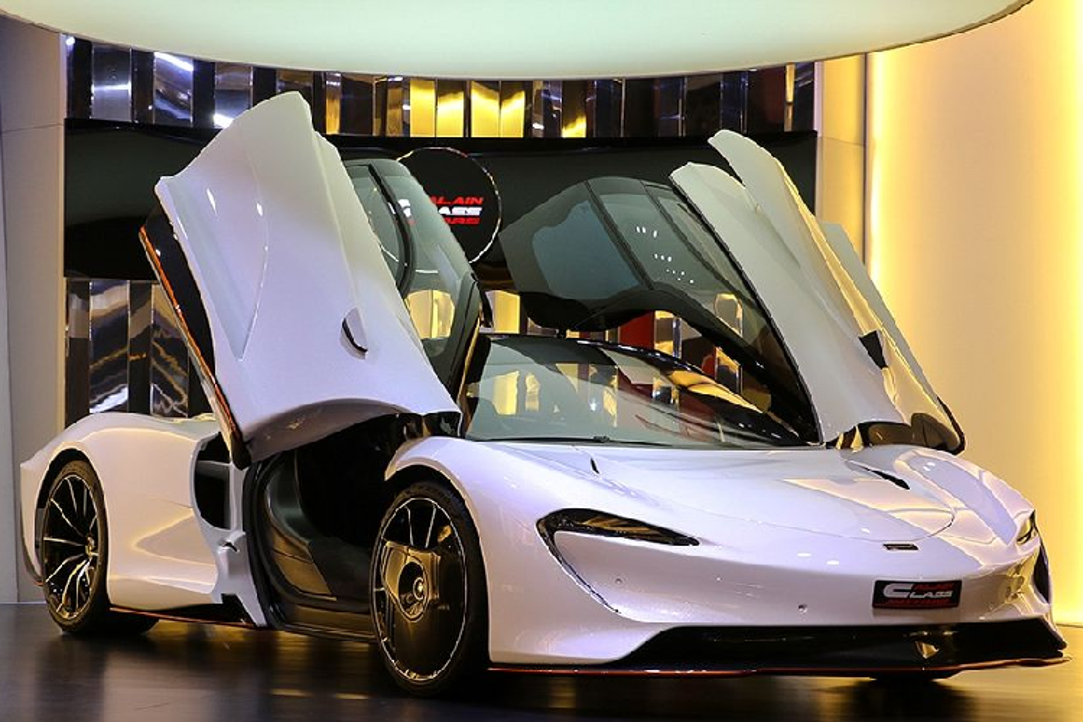 Dai ly ban Pagani Huayra cho Minh nhua da co McLaren Speedtail