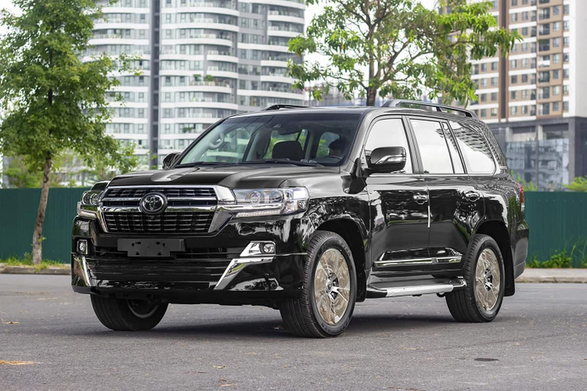 Can canh Toyota Land Cruiser 2021 may dau hon 6 ty tai Viet Nam