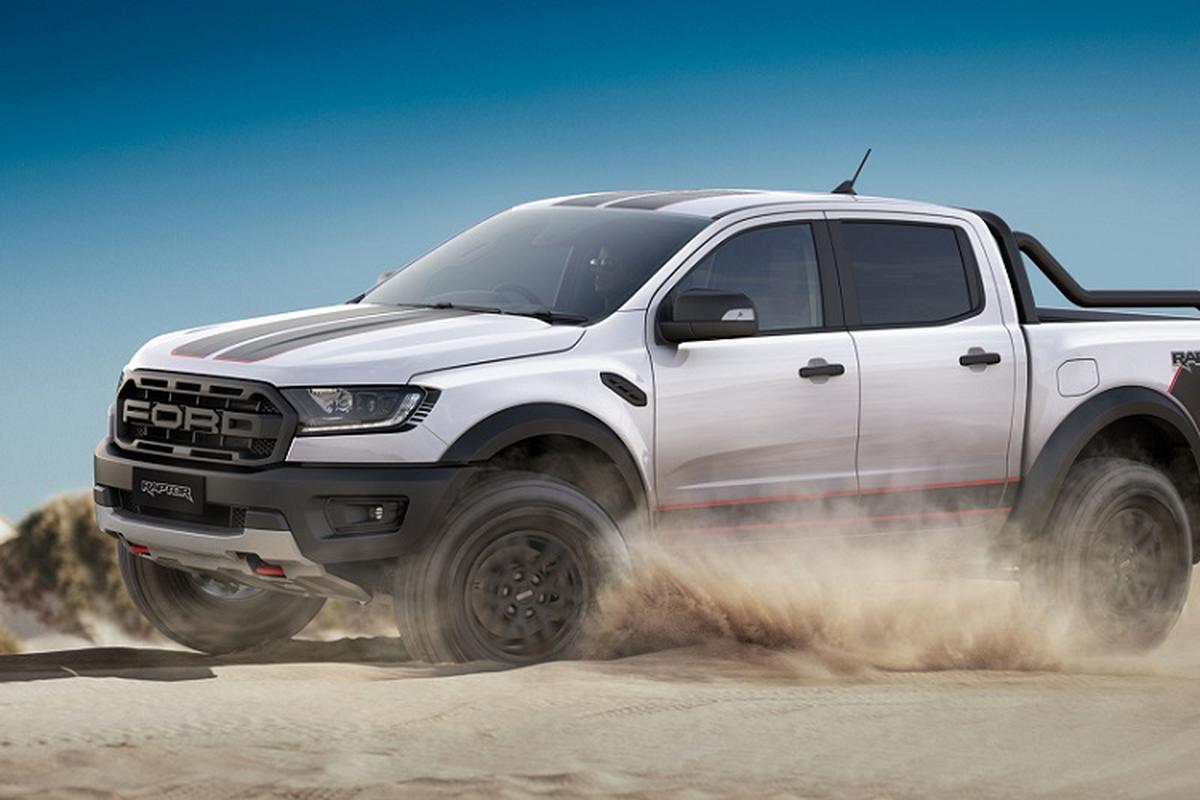 Ford Ranger Raptor X thiet ke the thao hon, tu 1,42 ty dong
