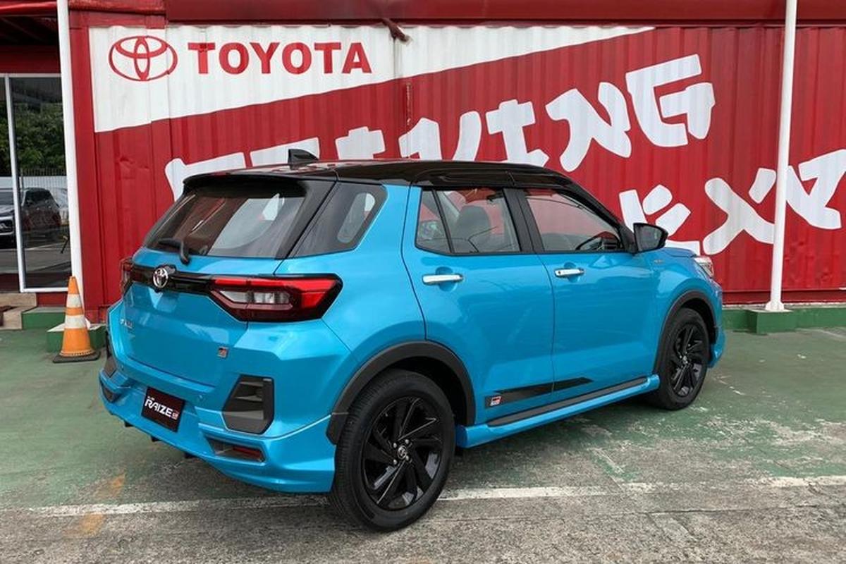 Toyota Raize 2021 duoi 400 trieu dong chao khach Dong Nam A-Hinh-12