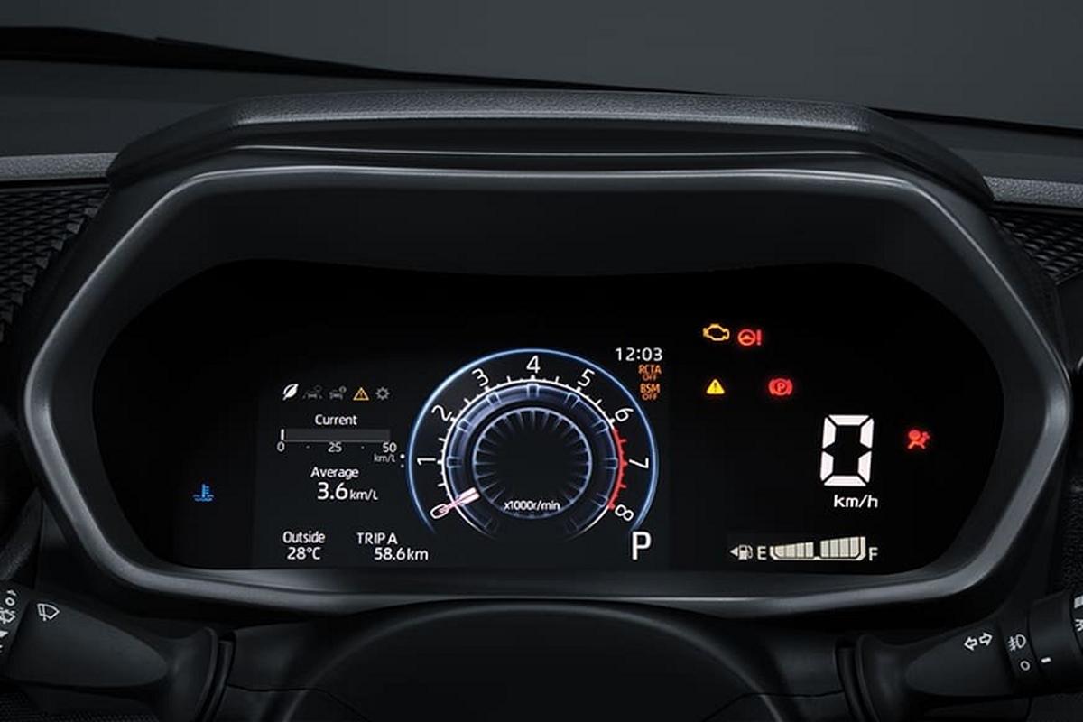 Toyota Raize 2021 duoi 400 trieu dong chao khach Dong Nam A-Hinh-4